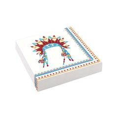 Χαρτοπετσέτες με θέμα μικρός ινδιάνος 33εκ 20τεμ
