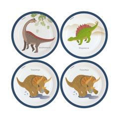 Πιάτα φαγητού με θέμα δεινοσαύρους 8τεμ