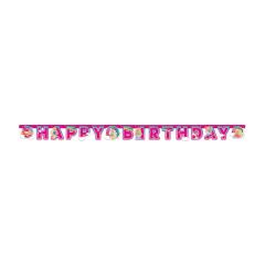 Γιρλάντα Happy Birthday Barbie 2μ