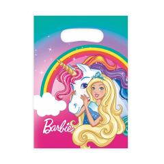 Τσάντες δώρου πλαστικές Barbie 8τεμ