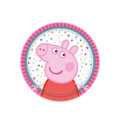 Χάρτινα πιάτα γλυκού Peppa Pig 18εκ