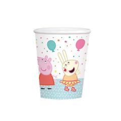 Χάρτινα ποτήρια Peppa Pig 250ml