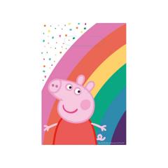 Χάρτινες τσάντες δώρου Peppa Pig 23x16εκ