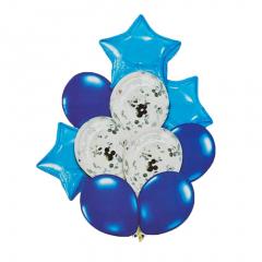 Σετ μπαλόνια μπλε 10τεμ