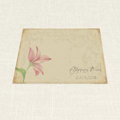 Σουπλά Γάμου MyMastoras Postcard Lily Α4