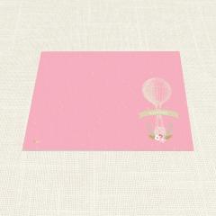 Σουπλά Βάπτισης MyMastoras Pink Aerostat A3