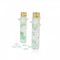 Σαπούνι confetti αστεράκια βεραμάν & λευκά Soap Tales