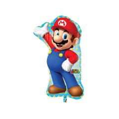 Μπαλόνι Φοιλ Σχήμα Super Mario Bros 55x83εκ