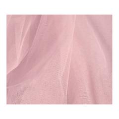 Τούλι μαλακό ροζ αντικέ με το μέτρο