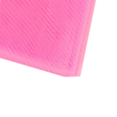 Οργάντζα νάιλον ροζ 40x40εκ 100τεμ