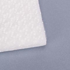 Κομμένο τούλι πουά λευκό 39x39εκ 100τεμ