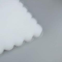 Κομμένο τούλι συννεφάκι λευκό 100τεμ
