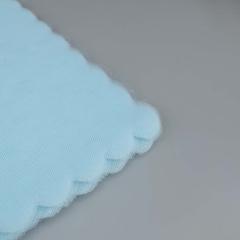 Κομμένο τούλι συννεφάκι σιέλ 100τεμ