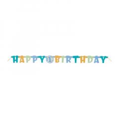 Χάρτινη γιρλάντα για πρώτα γενέθλια