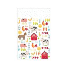 Tραπεζομάντηλο Πλαστικό Barnyard Birthday, 137x243 εκ