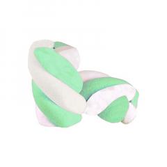 Marshmallow πλεξίδα μιντ 1kg