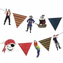 Γιρλάντα πειρατής με σημαιάκια Ahoy Meri Meri