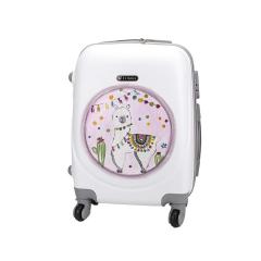 Βαλίτσα τρόλεϊ χειροποίητα ζωγραφισμένο Λάμα