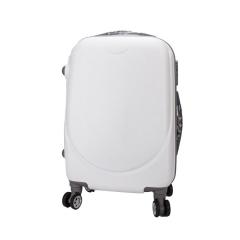 Βαλίτσα τρόλεϊ λευκή 57x35εκ