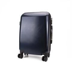 Βαλίτσα trolley μπλε σκούρο 50x35εκ