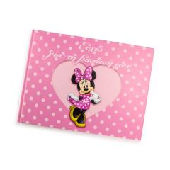 Βιβλίο ευχών με θέμα Minnie Mouse