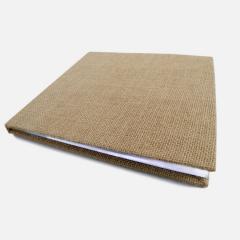 Βιβλίο ευχών με λινάτσα 27 x 26 cm