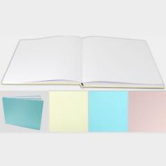 Βιβλίο ευχών χρωματιστό 28.5 x 22 cm