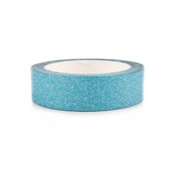 Washitape Glitter turquoise 1τμχ