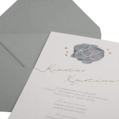 Προσκλητήρια Γάμου Wilmer MyMastoras®