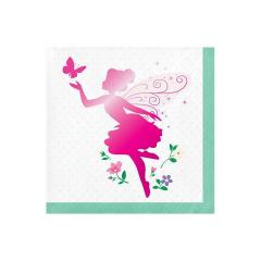 Χαρτοπετσέτες μικρές Floral Fairy 16τεμ 25x25εκ