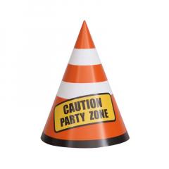 Χάρτινα καπελάκια για πάρτι Προσοχή πάρτι