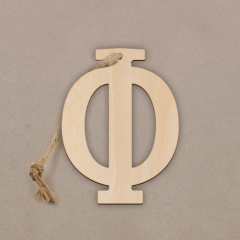 Ξύλινο γράμμα Φ 6εκ