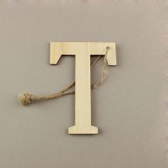 Ξύλινο γράμμα Τ 6εκ
