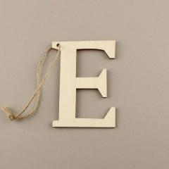 Ξύλινο γράμμα E 6εκ