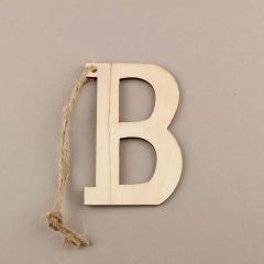Ξύλινο γράμμα Β 6εκ