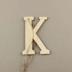 Ξύλινο γράμμα Κ 6εκ