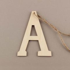Ξύλινο γράμμα Α 6εκ