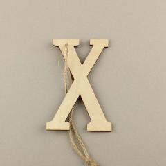 Ξύλινο γράμμα Χ 6εκ