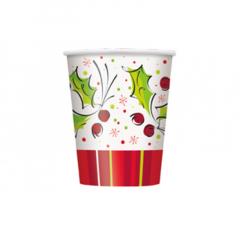 Χάρτινο ποτήρι Holly Pop 8τεμ