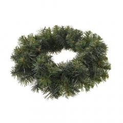 Χριστουγεννιάτικο στεφάνι πράσινο 40εκ