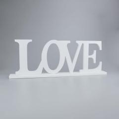 Ξύλινο διακοσμητικό LOVE 21x60εκ