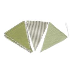 Υφασμάτινη γιρλάντα πράσινη 1,8 μέτρα